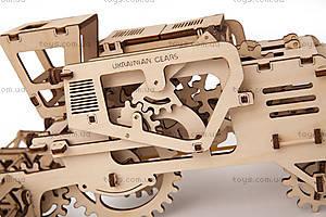 Детский 3D пазл «Комбайн», 700010, детские игрушки