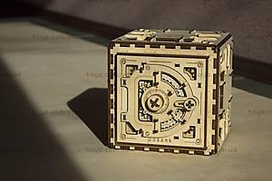 Деревянный 3D пазл «Сейф», 700011, фото