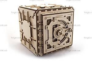 Деревянный 3D пазл «Сейф», 700011