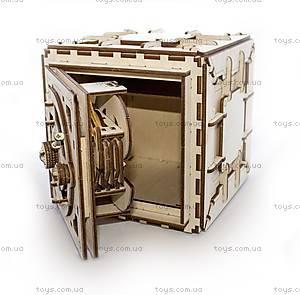 Деревянный 3D пазл «Сейф», 700011, отзывы
