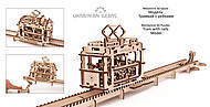 Детский 3D пазл «Трамвай с рейками», 70008, фото