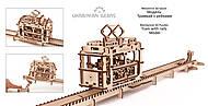 Детский 3D пазл «Трамвай с рейками», 70008