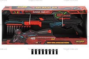 Детский автомат на патронах-присосках Bullet, FJ831