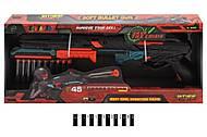 Детский автомат на патронах-присосках Bullet, FJ831, купить