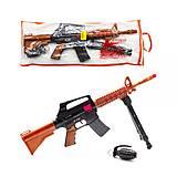 Детский автомат-трещетка «M16» с гранатой, 805, купить