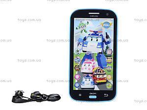 Детский айфон «Робокар Поли», JD-0883P2, купить