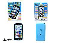 Детский айфон «Робокар Поли», JD-0883P2, магазин игрушек