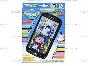 Детский айфон «Робокар Поли», JD-0883P2, отзывы