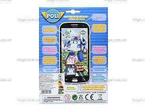 Детский айфон «Робокар Поли», JD-0883P2, цена