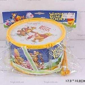 Детский барабан «Винни Пух», 6610-11