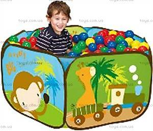 Детский бассейн «Зоопарк», LI-703-1