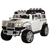 Детский белый автомобильчик, JJ255EBR-1, детские игрушки