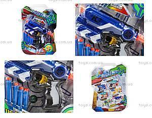 Детский бластер с поролоновыми пулями, JL3690A