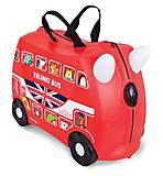 Детский чемодан «Boris Bus», 0186-GB01-UKV, купить