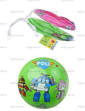 Детский цветной мяч с рисунком, 6023, отзывы
