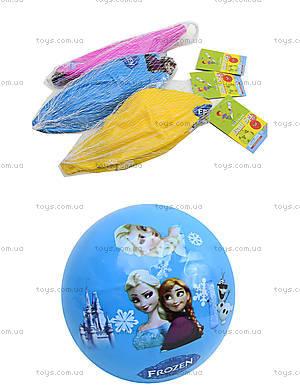 Детский цветной мяч с рисунком, 6023, toys.com.ua