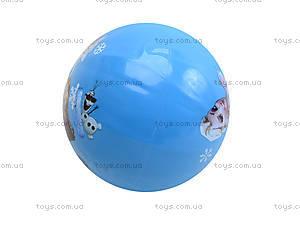 Детский цветной мяч с рисунком, 6023, toys