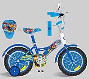 Детский двухколесный велосипед 14'' (181423) со звонком, 181423, фото