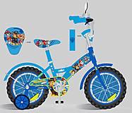 Детский двухколесный велосипед 18'' (181822) с зеркалом, 181822, фото