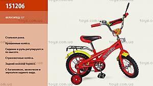 Детский двухколесный велосипед «Super Bike», 151206