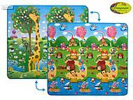 Детский двухсторонний коврик «Большая жирафа и Солнечный день», LP009-200