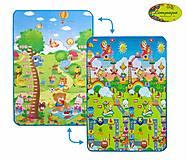 Детский двухсторонний коврик «Сафари-пикник и Веселье животных», LP005-120, отзывы