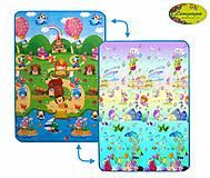 Детский двухсторонний коврик «Солнечный день и Подводный мир», LP007-120