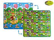 Детский двусторонний коврик «Солнечный день и Цветные циферки», LP003-200, игрушки