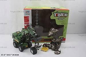 Детский экскаватор-погрузчик Truck, 8059E