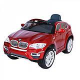 Детский электромобиль BMW X6 RED на радиоуправлении, T-791 RED, отзывы