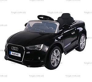 Детский электромобиль для малышей Audi A3, T-795 BLACK