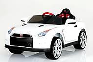 Детский электромобиль на радиоуправлении T-797 Nissan GT-R WHITE, T-797 WHITE, купить