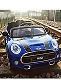 Детский электромобиль T-7910 Mini BLUE на радиоуправлении, T-7910 BLUE, купить