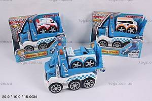 Детский грузовик-автовоз, XG9698