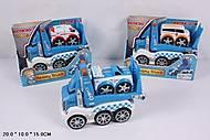 Детский грузовик-автовоз, XG9698, фото