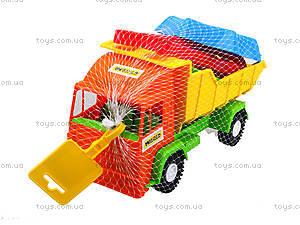Детский грузовик Mini truck с набором для песка, 39157, цена