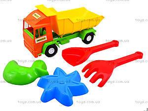 Детский грузовик Mini truck с набором для песка, 39157, детский