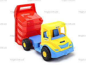 Детский грузовик Multi truck с конструктором, 32330, фото