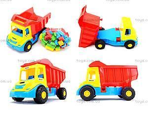 Детский грузовик Multi truck с конструктором, 32330