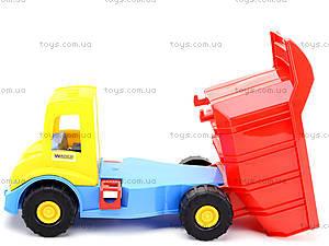 Детский грузовик Multi truck с конструктором, 32330, цена