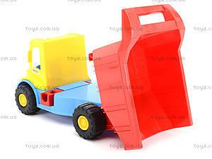 Детский грузовик Multi truck с конструктором, 32330, детские игрушки