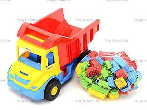 Детский грузовик Multi truck с конструктором, 32330, магазин игрушек