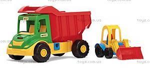 Детский грузовик с трактором, 32210