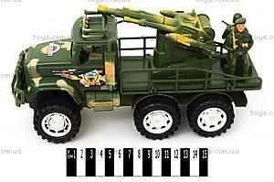 Детский грузовик «Военный» с ракетной установкой, 2188-85