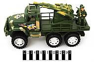 Детский грузовик «Военный» с ракетной установкой, 2188-85, отзывы
