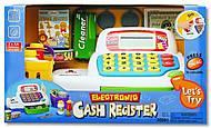 Детский кассовый аппарат, голубой, K30261, купить игрушку