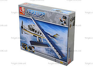 Детский конструктор «Авиационный вертолет», M38-B0361, купити