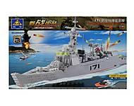 Детский конструктор Brick «Корабль», 84029, купить