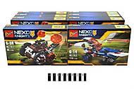 Детский конструктор Brick «NEXO knights» в коробке, 110#1-4