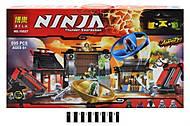 Детский конструктор Brick «NINJA», 10527
